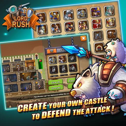 Lord Rush: Medieval Castle War - screenshot