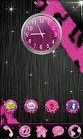 Screenshot of GO Theme Glitter Pink Leopard