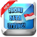 Indonesia Phone Data Settings icon