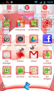 GO Launcher EX Santa Claus - screenshot thumbnail
