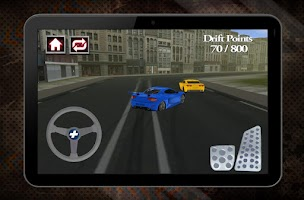 Screenshot of Modern Sport Cars Drift Race