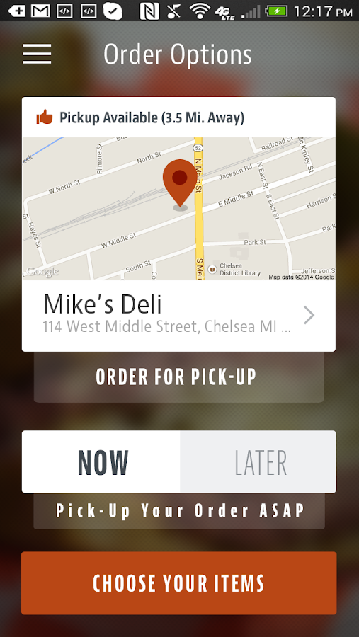 Mike's Deli- screenshot