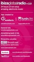 Screenshot of IbizaGlobalRadio