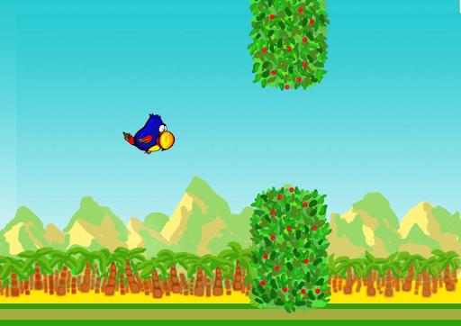 Clumsy Parrot the Floppy Bird