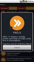 Screenshot of FWD .lt