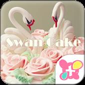 ★FREE THEMES★Swan Cake