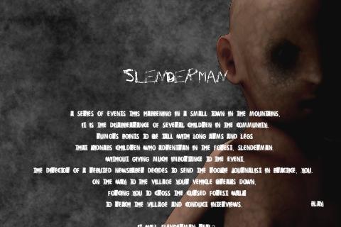 Slender man by Bitmogade