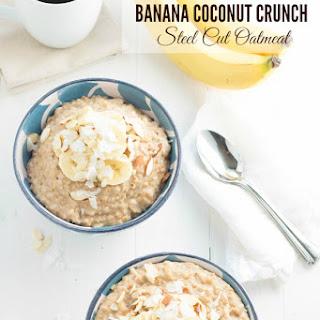 Banana Coconut Crunch Oatmeal