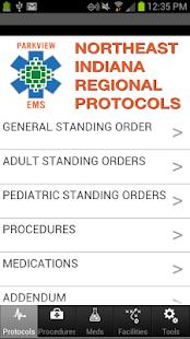 Parkview EMS screenshot