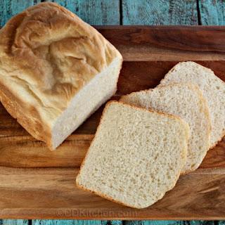 Bread Machine Country White Bread