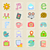 CUKI Theme Patten Flower  Icon