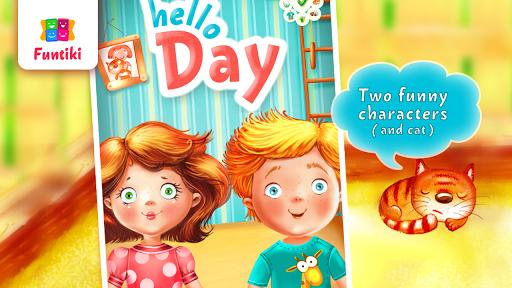 玩免費教育APP|下載Hello day: Morning app不用錢|硬是要APP