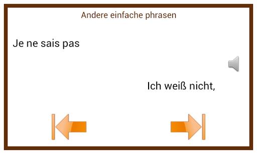 Learn French Conversation :DE