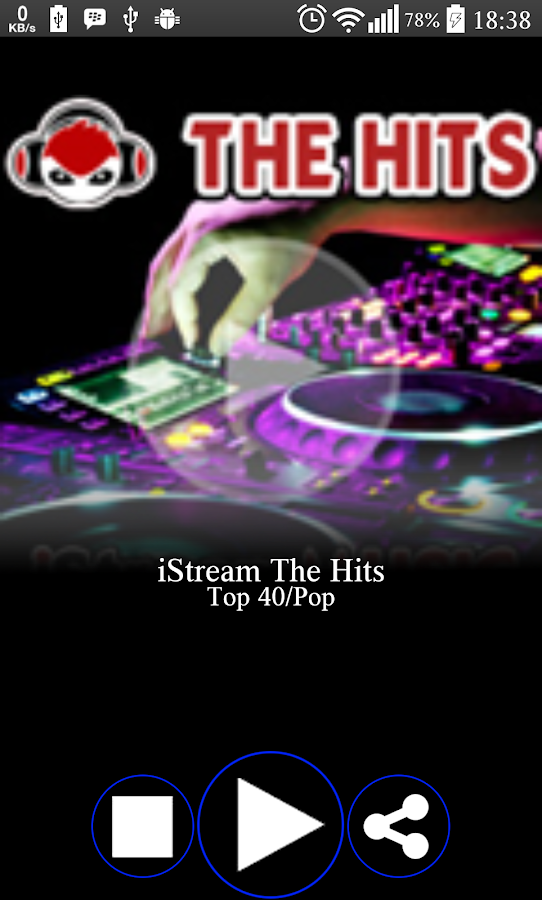 StreamIT Radio- screenshot