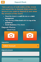 Screenshot of Bethpage Mobile Banking