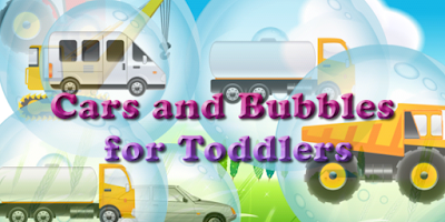 Screenshot of Cars and Bubbles for Toddlers!