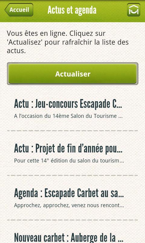 Escapade Carbet- screenshot
