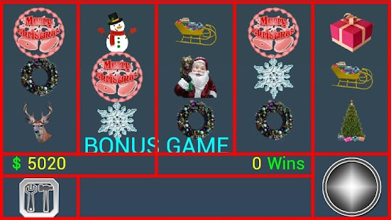 A8 Xmas Slot Machine screenshot