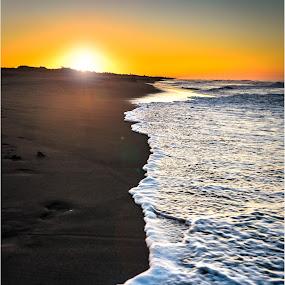 Sunrise in Boca del Cielo by Sergio Moya - Landscapes Beaches ( water, méxico, sunset, lanscape, boca del cielo, sunrise, beach, chiapas,  )
