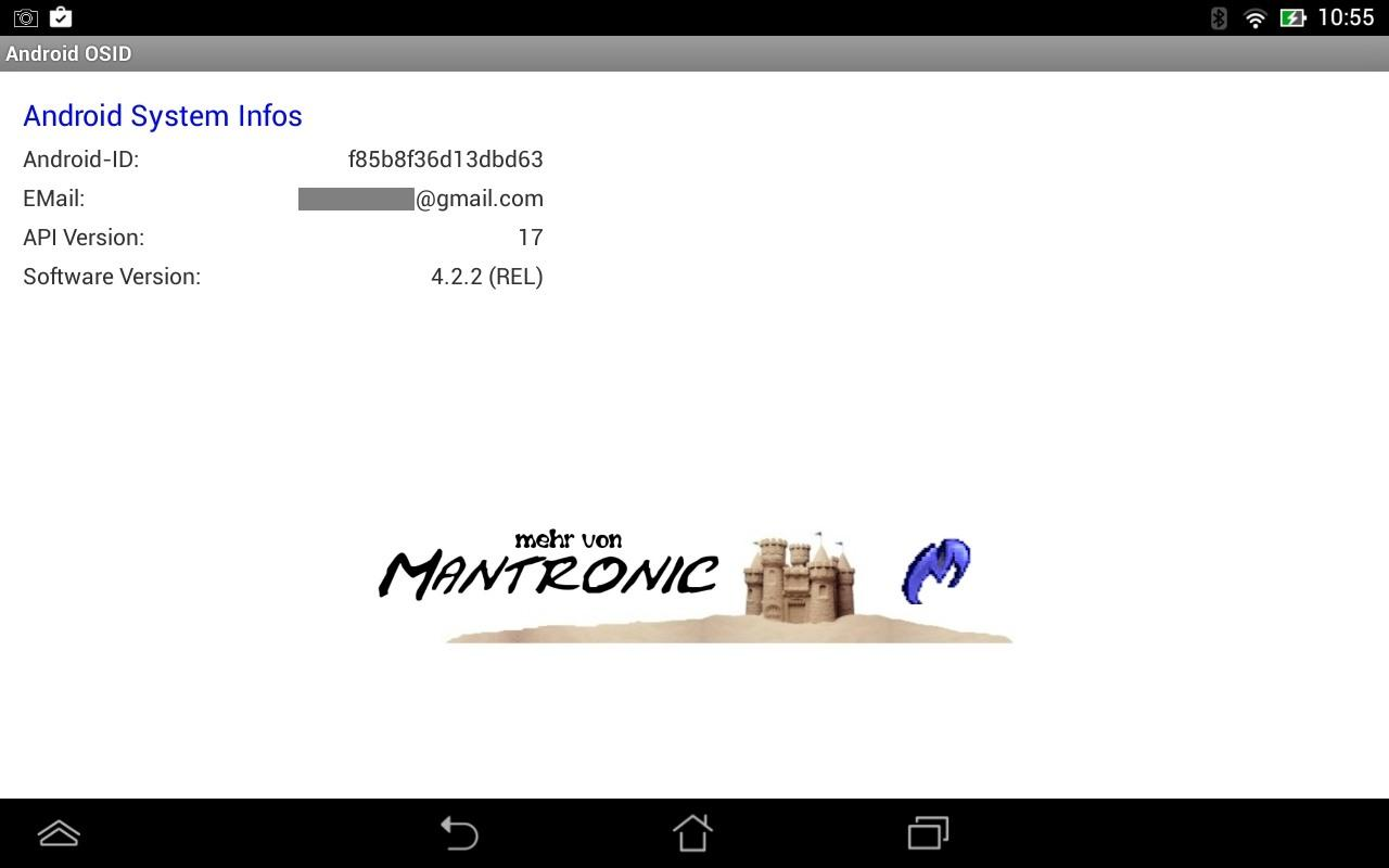 ANOS ID (Device Identifier)- screenshot