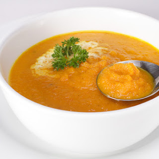 Healthy Cream of Carrot Soup