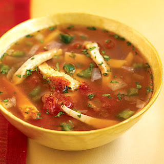 Mexican Chicken Soup.