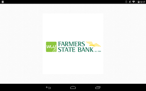 My Farmers State Bank Tablet