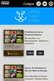 White Tiger Books- screenshot thumbnail