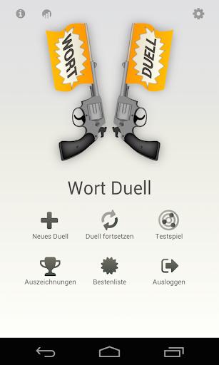Wort Duell - Worträtsel