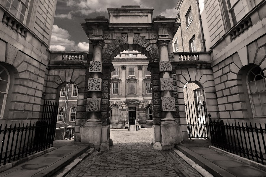 the gate to heaven  by Almas Bavcic - City,  Street & Park  Historic Districts