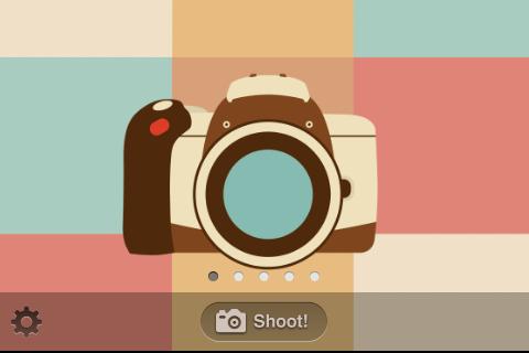 レトロ写真カメラ