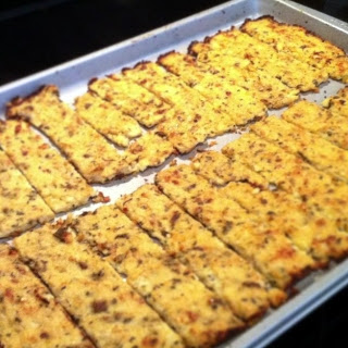 Cauliflower Breadsticks (Paleo)