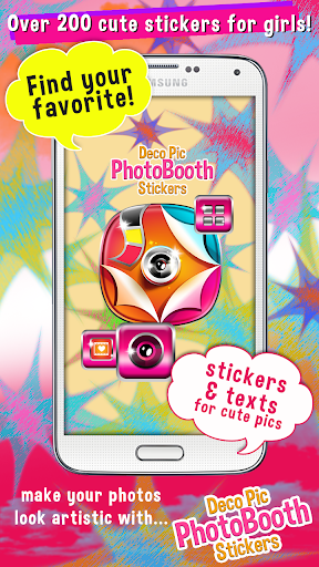 Deco Pic PhotoBooth Stickers