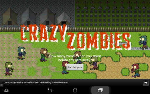 Crazy Zombies - Shooting