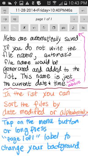 S Pen Notes