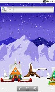 Christmas Live Wallpaper- screenshot thumbnail