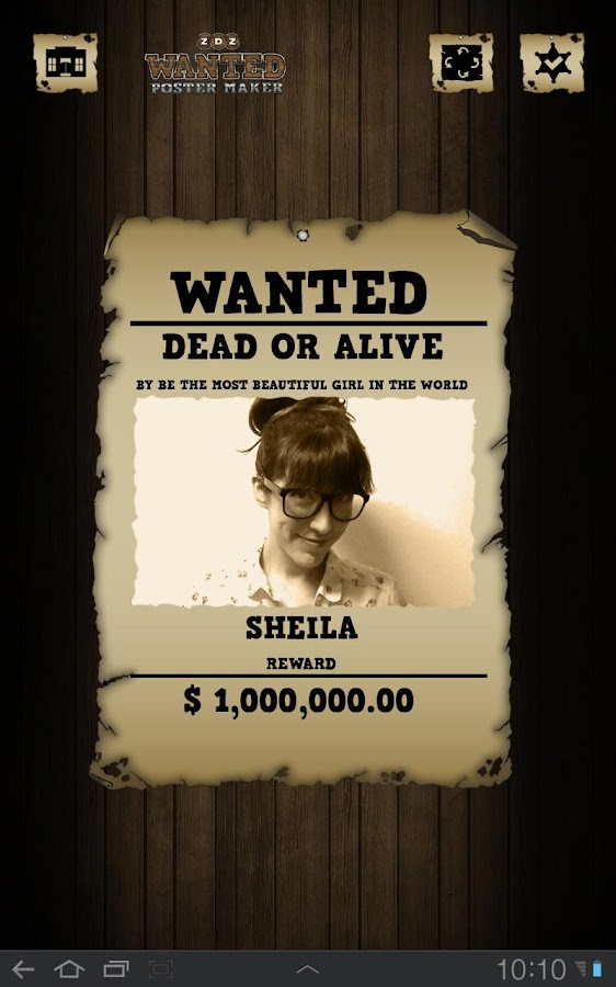 Wanted Poster Maker Editor Android Apps on Google Play – Wanted Poster Layout