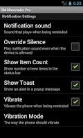 Screenshot of SMS Reminder Pro
