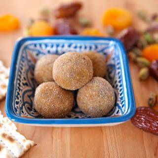 Sephardic Charoset Truffles