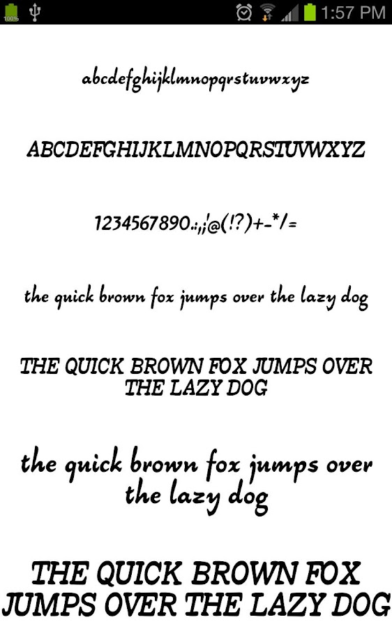 Fonts for Galaxy FlipFont Free- screenshot