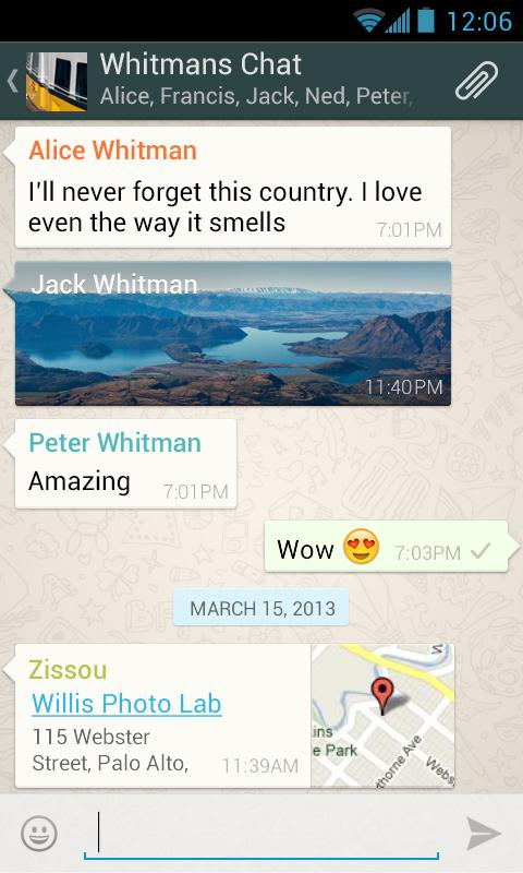 Download WhatsApp Messenger For Android Devices Free