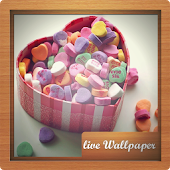 Candy Live Wallpaper