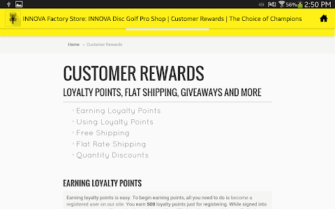 INNOVA Disc Golf Factory Store screenshot 7