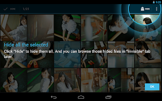Screenshot of Hide Something - Photo, Video