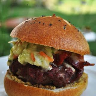 The Pennsylvania Dutch Burger.