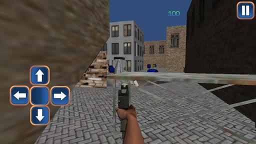 防恐怖袭击3D