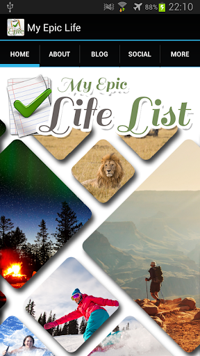 My Epic Life List
