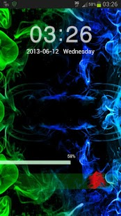 Go Locker Theme green smoke- screenshot thumbnail