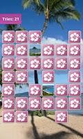 Screenshot of Hawaii Memory Game