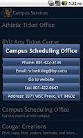 Screenshot of BYU